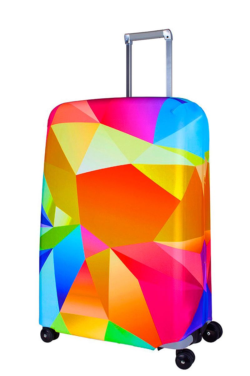 Чехол для чемодана Coverway Fable, размер L/XL (75-85 см)Fab-L/XLДля больших чемоданов, высотой от 75 до 85 см (29-33 inch) (мерить от пола). Плотность ткани - 240 г/кв.м, упрочненные швы, 2 потайные молнии для боковых ручек с двух сторон. Внизу чехла - молния трактор, дополнительная резинка с фастексом для лучшей усадки. Стойкая сублимационная печать.