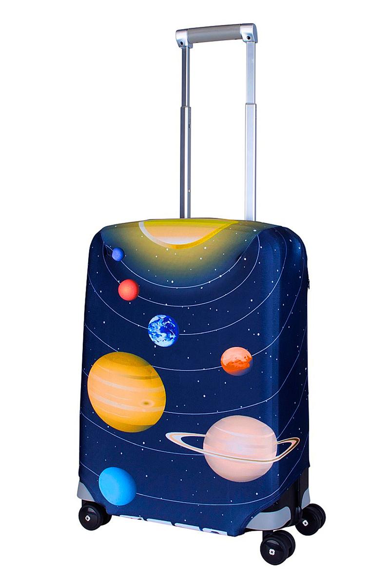 Чехол для чемодана Coverway Solar, размер S (50-55 см)Sol-SДля чемоданов маленьких размеров, высотой от 50 до 55 см (19-21 inch) (мерить от пола). Плотность ткани - 240 г/кв.м, упрочненные швы, 2 потайные молнии для боковых ручек с двух сторон. Внизу чехла - молния трактор, дополнительная резинка с фастексом для лучшей усадки. Стойкая сублимационная печать.