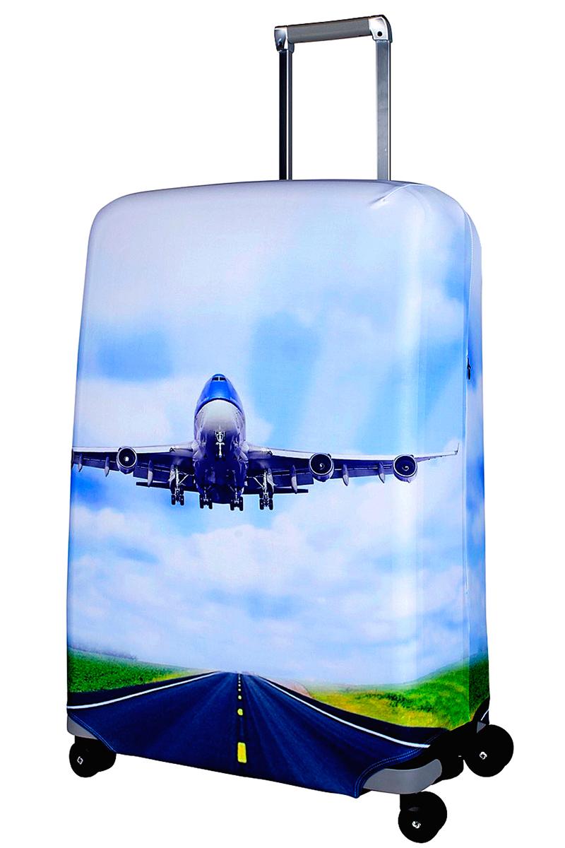 Чехол для чемодана Coverway Plane, размер L/XL (75-85 см)Pl-L/XLДля больших чемоданов, высотой от 75 до 85 см (29-33 inch) (мерить от пола). Плотность ткани - 240 г/кв.м, упрочненные швы, 2 потайные молнии для боковых ручек с двух сторон. Внизу чехла - молния трактор, дополнительная резинка с фастексом для лучшей усадки. Стойкая сублимационная печать.