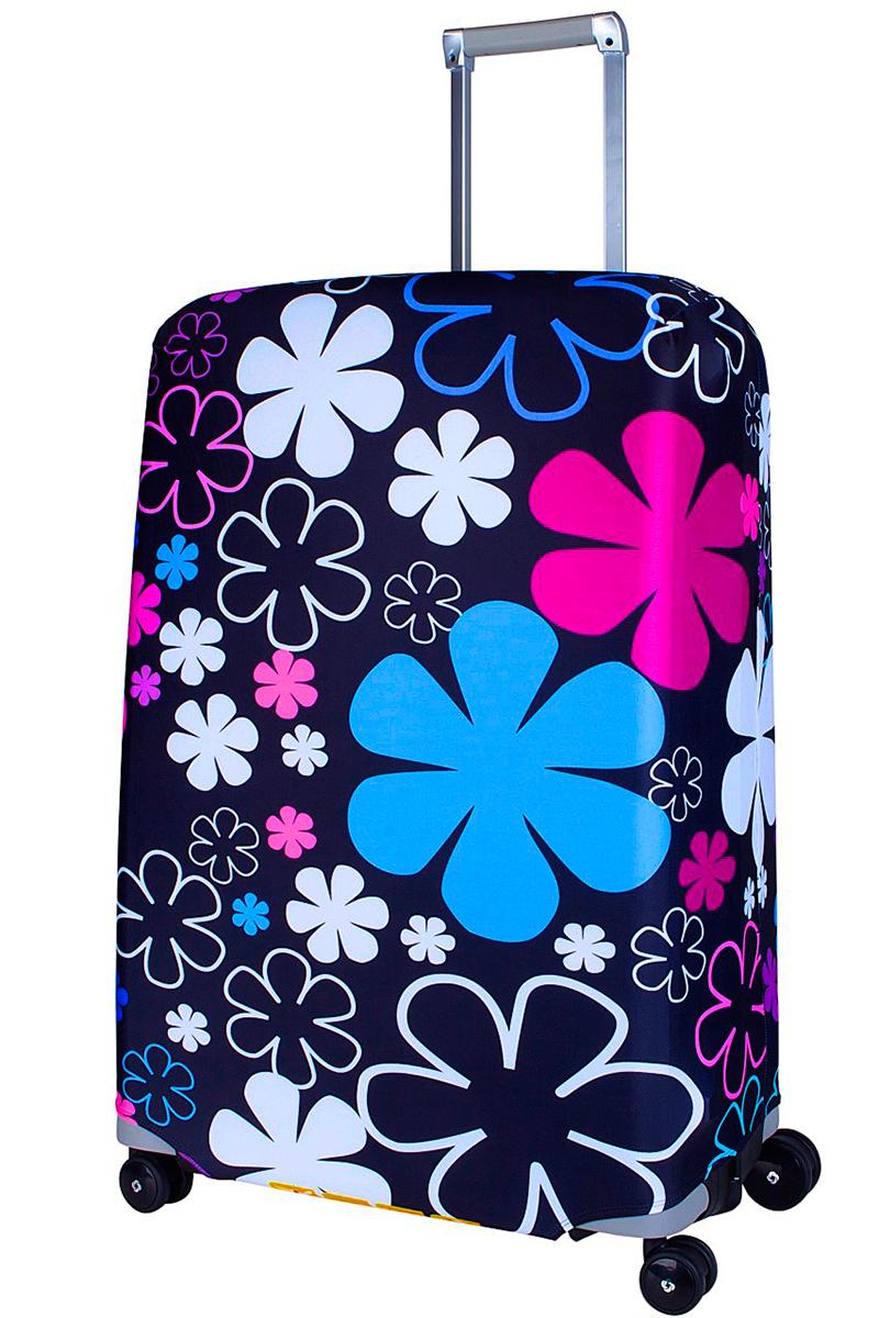 Чехол для чемодана Coverway Floxy, размер L/XL (75-85 см)Fl-L/XLДля больших чемоданов, высотой от 75 до 85 см (29-33 inch) (мерить от пола). Плотность ткани - 240 г/кв.м, упрочненные швы, 2 потайные молнии для боковых ручек с двух сторон. Внизу чехла - молния трактор, дополнительная резинка с фастексом для лучшей усадки. Стойкая сублимационная печать.