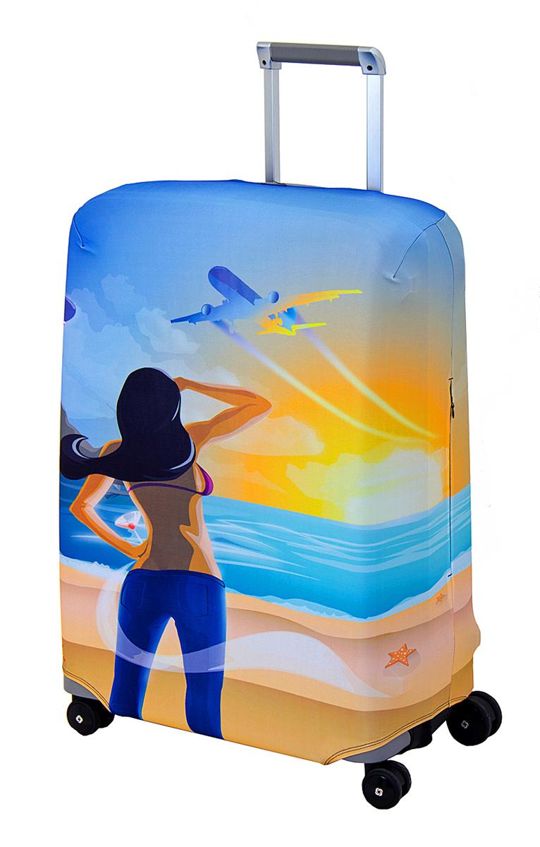 Чехол для чемодана Coverway Hellow Yellow, размер M/L (65-74 см)Hell-M/LДля чемоданов средних размеров, высотой от 65 до 74 см (24-28 inch) (мерить от пола). Плотность ткани - 240 г/кв.м, упрочненные швы, 2 потайные молнии для боковых ручек с двух сторон. Внизу чехла - молния трактор, дополнительная резинка с фастексом для лучшей усадки. Стойкая сублимационная печать.