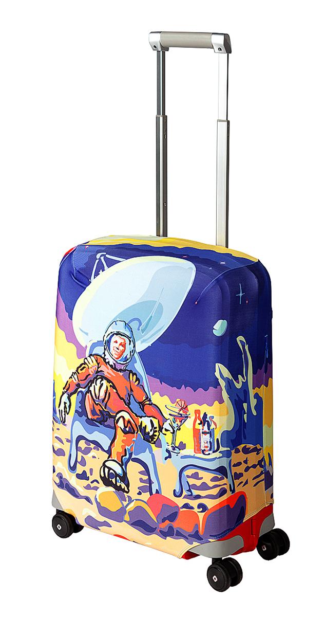 Чехол для чемодана Coverway Mars Beach Club, размер S (50-55 см)Mars-SДля чемоданов маленьких размеров, высотой от 50 до 55 см (19-21 inch) (мерить от пола). Плотность ткани - 240 г/кв.м, упрочненные швы, 2 потайные молнии для боковых ручек с двух сторон. Внизу чехла - молния трактор, дополнительная резинка с фастексом для лучшей усадки. Стойкая сублимационная печать.