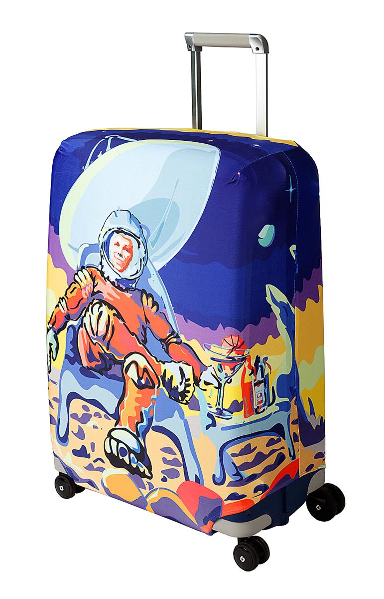 Чехол для чемодана Coverway Mars Beach Club, размер L/XL (75-85 см)Mars-L/XLДля больших чемоданов, высотой от 75 до 85 см (29-33 inch) (мерить от пола). Плотность ткани - 240 г/кв.м, упрочненные швы, 2 потайные молнии для боковых ручек с двух сторон. Внизу чехла - молния трактор, дополнительная резинка с фастексом для лучшей усадки. Стойкая сублимационная печать.