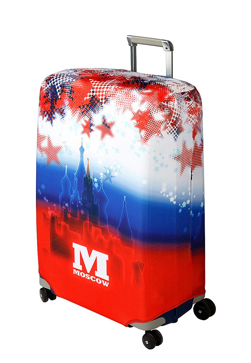 Чехол для чемодана Coverway Moscow, размер L/XL (75-85 см)Mos-L/XLДля больших чемоданов, высотой от 75 до 85 см (29-33 inch) (мерить от пола). Плотность ткани - 240 г/кв.м, упрочненные швы, 2 потайные молнии для боковых ручек с двух сторон. Внизу чехла - молния трактор, дополнительная резинка с фастексом для лучшей усадки. Стойкая сублимационная печать.