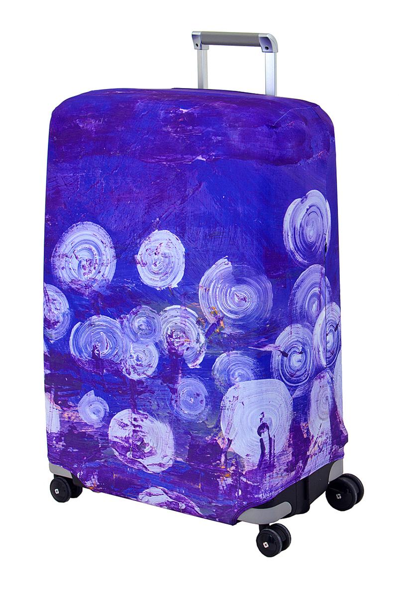 Чехол для чемодана Coverway Night Lights, размер L/XL (75-85 см)Night-L/XLДля больших чемоданов, высотой от 75 до 85 см (29-33 inch) (мерить от пола). Плотность ткани - 240 г/кв.м, упрочненные швы, 2 потайные молнии для боковых ручек с двух сторон. Внизу чехла - молния трактор, дополнительная резинка с фастексом для лучшей усадки. Стойкая сублимационная печать.
