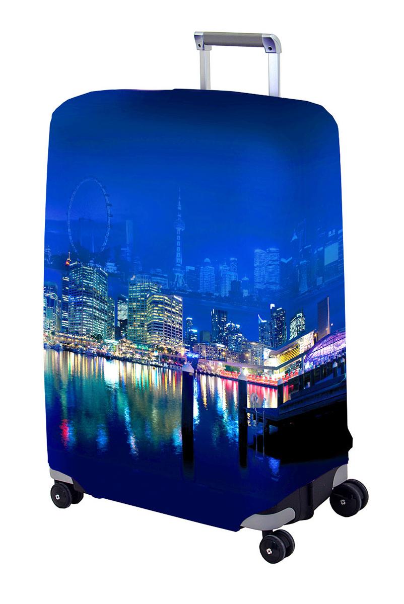Чехол для чемодана Coverway Voager II, размер L/XL (75-85 см)VoaII-L/XLДля больших чемоданов, высотой от 75 до 85 см (29-33 inch) (мерить от пола). Плотность ткани - 240 г/кв.м, упрочненные швы, 2 потайные молнии для боковых ручек с двух сторон. Внизу чехла - молния трактор, дополнительная резинка с фастексом для лучшей усадки. Стойкая сублимационная печать.
