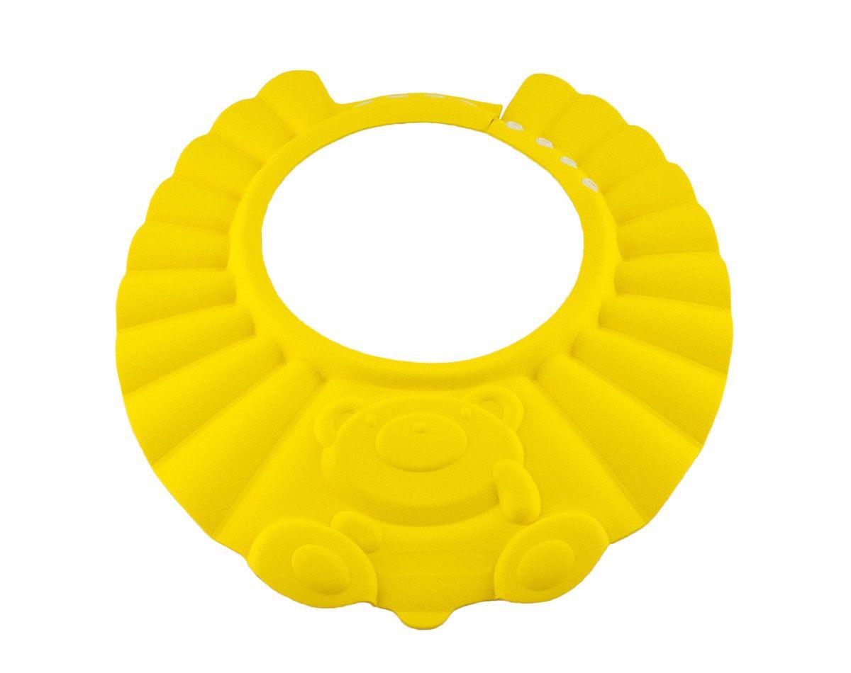 Baby Swimmer Детская шапочка-козырек для душа цвет желтый BS-SH01-DBS-SH01-DПредназначены в качестве козырька для душа (Защита глаз от шампуня), так же могут быть использованы в качестве защиты глаз от солнца и от попадания волос в глаза во время стрижки. Козырьки имеют застежки для регулирования.На каждый размер 3 цвета. От 0 - 3 лет