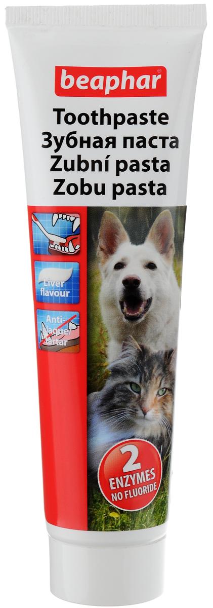 Паста зубная Beaphar для собак и кошек, со вкусом печени, 100 г46138Паста зубная Beaphar для собак и кошек содержит ингредиенты, удаляющие отложения ферментов и является полноценным средством ухода за полостью пасти животного. Забота о зубах домашних животных сегодня так же важна, как и забота о зубах человека. Зубная паста не дает пены и не требует последующего полоскания пасти. Чистит зубы и устраняет дурной запах из пасти. Фармакологические свойства: - Ферменты в зубной пасте действуют против образования бляшек и уничтожают бактерии, ответственные за развитие бляшек. - Уменьшает образование зубного камня из бляшек. - Ингредиент флюорид обеспечивает укрепление эмали зубов. Это вещество уменьшает растворение эмали во время кислотной атаки, вызванной бляшками. Более того, флюорид стимулирует растворение осадка во время действия кислоты. - Выполняет классическую функцию зубной пасты. - Полирование удаляет бляшки механически. Товар сертифицирован.