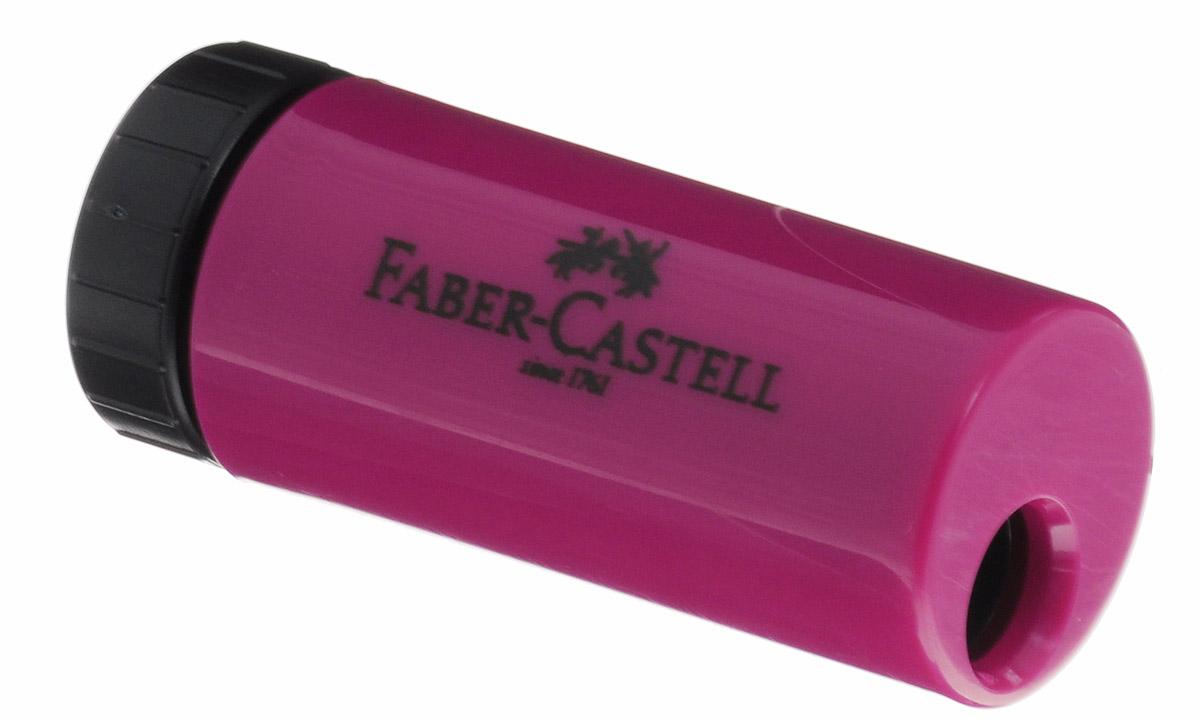 Faber-Castell Точилка с контейнером цвет бордовый183301_бордовыйУдобная точилка в пластиковом корпусе Faber-Castell предназначена для затачивания карандашей. Острое лезвие обеспечивает высококачественную и точную заточку. Карандаш затачивается легко и аккуратно, а опилки после заточки остаются в специальном контейнере повышенной вместимости.