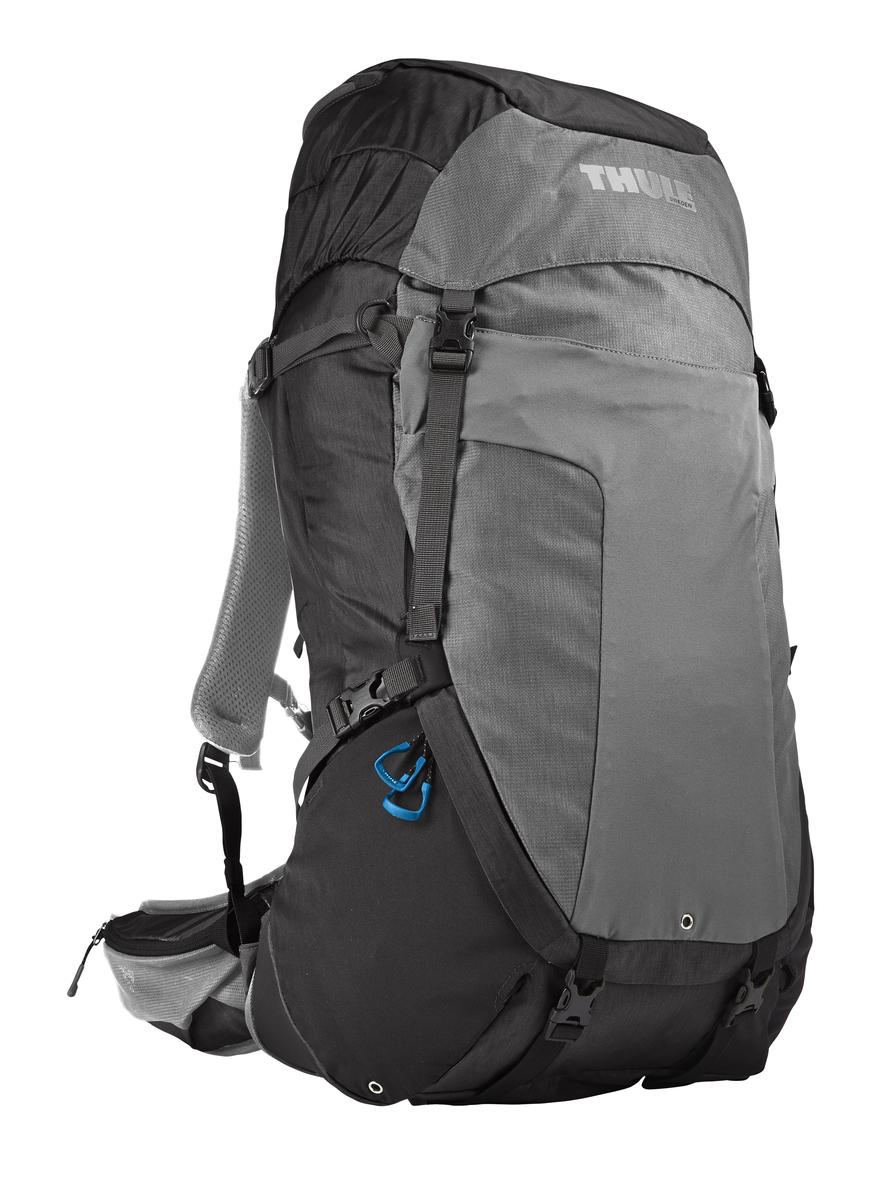Рюкзак мужской Thule Capstone, цвет: серый, 50 л206702Мужской рюкзак для пеших путешествий Thule Capstone 50 л. Thule Capstone 50 л идеально подходит для однодневных путешествий или коротких походов. Рюкзак снабжен системой крепления MicroAdjust, которая обеспечивает максимальную регулировку для идеальной посадки, натягиваемой сеточной задней панелью для максимальной воздухопроницаемости и вшитой накидкой от дождя.