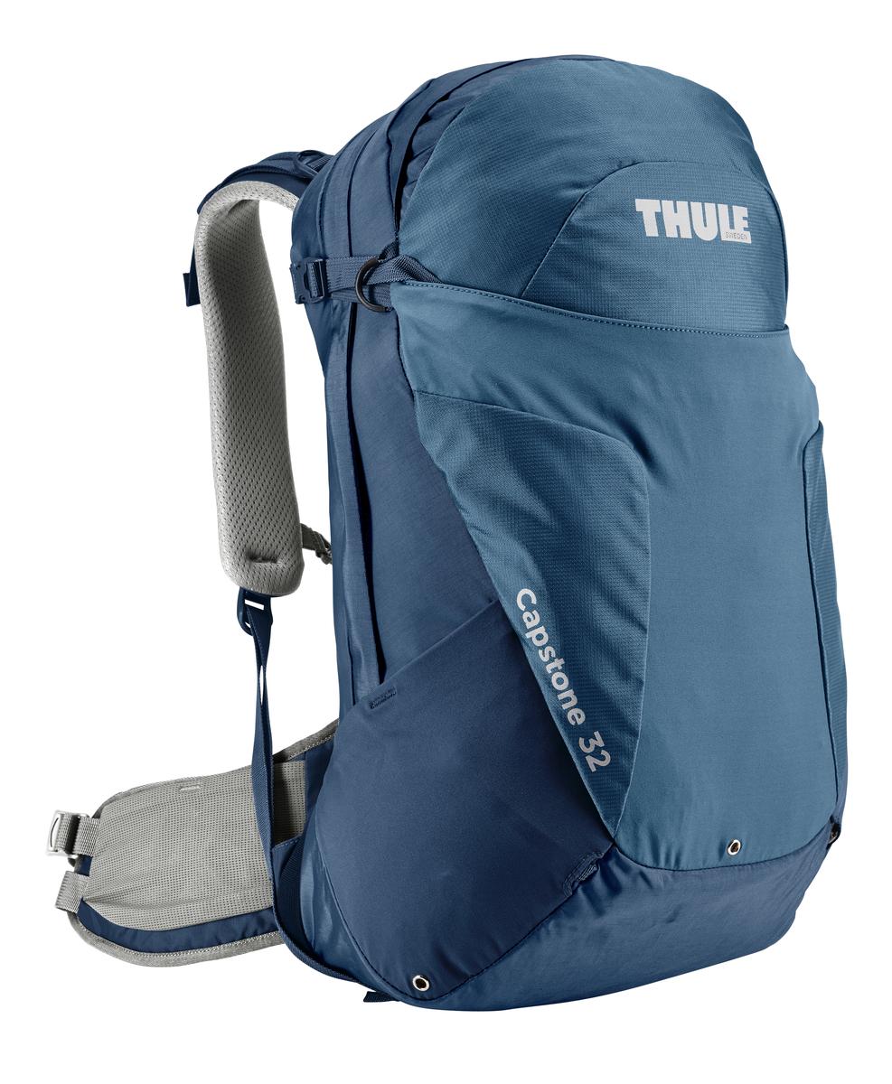 Рюкзак мужской Thule Capstone, цвет: темно-синий, 32л207101Мужской рюкзак для пеших путешествий Thule Capstone вместительностью 32 лМужской рюкзак для пеших путешествий Thule Capstone 32 л Thule Capstone 32 л идеально подходит для однодневных путешествий или коротких походов. Рюкзак снабжен системой крепления MicroAdjust, которая обеспечивает максимальную регулировку для идеальной посадки, натягиваемой сеточной задней панелью для максимальной воздухопроницаемости и вшитой накидкой от дождя.