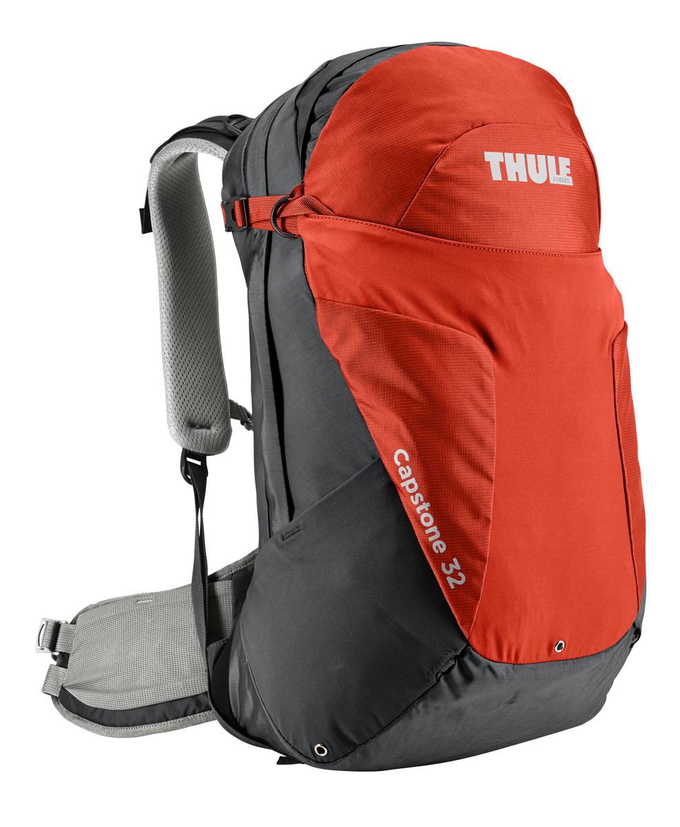 Рюкзак мужской Thule Capstone, цвет: оранжевый, 32л207104Мужской рюкзак для пеших путешествий Thule Capstone вместительностью 32 лМужской рюкзак для пеших путешествий Thule Capstone 32 л Thule Capstone 32 л идеально подходит для однодневных путешествий или коротких походов. Рюкзак снабжен системой крепления MicroAdjust, которая обеспечивает максимальную регулировку для идеальной посадки, натягиваемой сеточной задней панелью для максимальной воздухопроницаемости и вшитой накидкой от дождя.