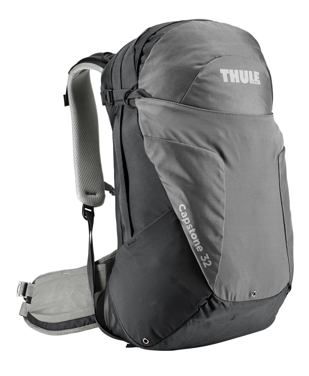 Рюкзак женский Thule Capstone, цвет: серый, 32л207202Женский рюкзак для пеших путешествий Thule Capstone 32 лЖенский рюкзак для пеших путешествий Thule Capstone 32 л Thule Capstone 32 л идеально подходит для однодневных путешествий или коротких походов. Рюкзак снабжен системой крепления MicroAdjust, которая обеспечивает максимальную регулировку для идеальной посадки, натягиваемой сеточной задней панелью для максимальной воздухопроницаемости и вшитой накидкой от дождя.