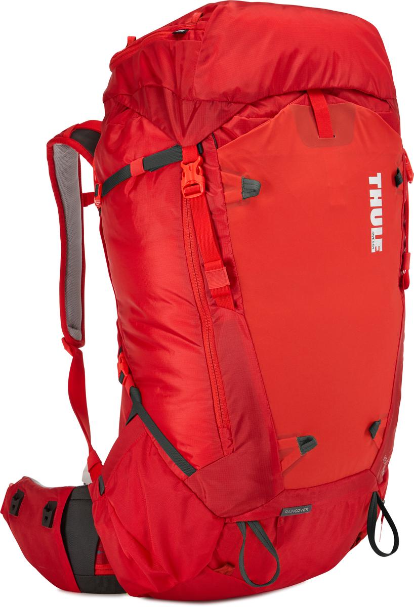 Рюкзак мужской Thule Versant, цвет: красный, 60л211200Мужской туристический рюкзак Thule Versant 60 л - Обладающие идеальным размером рюкзаки для походов на 3–5 дней имеют дополнительные преимущества в виде регулируемого поясного ремня, легкодоступных карманов и верхнего клапана, который трансформируется в рюкзак с одной лямкой. Легко регулируется для идеальной посадки: по спине в пределах 12 см, поясной ремень — в диапазоне 10 см Съемный водонепроницаемый сворачивающийся карман VersaClick защищает снаряжение от непогоды Регулируемый поясной ремень совместим со взаимозаменяемыми аксессуарами VersaClick (продаются отдельно) Система StormGuard — это комбинация частичного дождевого чехла с водонепроницаемым нижним слоем для создания полностью защищенного от непогоды рюкзака Конструкция StormGuard обеспечивает удобный доступ к снаряжению, препятствует проникновению влаги и более надежна, чем обычный дождевой чехол Удобный доступ к боковым карманам даже при надетом дождевом чехле Верхняя крышка трансформируется в...