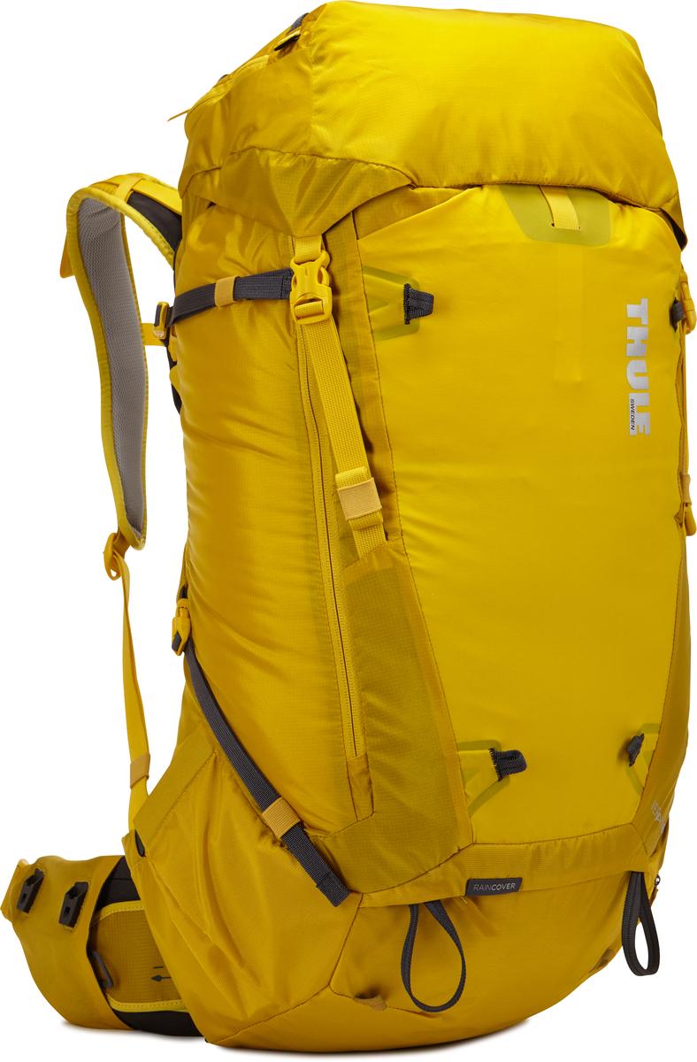 Рюкзак мужской Thule Versant, цвет: желтый, 50л211301Мужской туристический рюкзак Thule Versant 50 л - Эти легкие рюкзаки обеспечивают необходимую вместительность, порядок и удобный доступ к снаряжению для походов с ночевкой. Легко регулируется для идеальной посадки: по спине в пределах 12 см, поясной ремень — в диапазоне 10 см Съемный водонепроницаемый сворачивающийся карман VersaClick защищает снаряжение от непогоды Регулируемый поясной ремень совместим со взаимозаменяемыми аксессуарами VersaClick (продаются отдельно) Система StormGuard — это комбинация частичного дождевого чехла с водонепроницаемым нижним слоем для создания полностью защищенного от непогоды рюкзака Конструкция StormGuard обеспечивает удобный доступ к снаряжению, препятствует проникновению влаги и более надежна, чем обычный дождевой чехол Удобный доступ к боковым карманам даже при надетом дождевом чехле Верхняя крышка трансформируется в рюкзак с одной лямкой для горных прогулок Большая панель с подковообразной молнией обеспечивает...