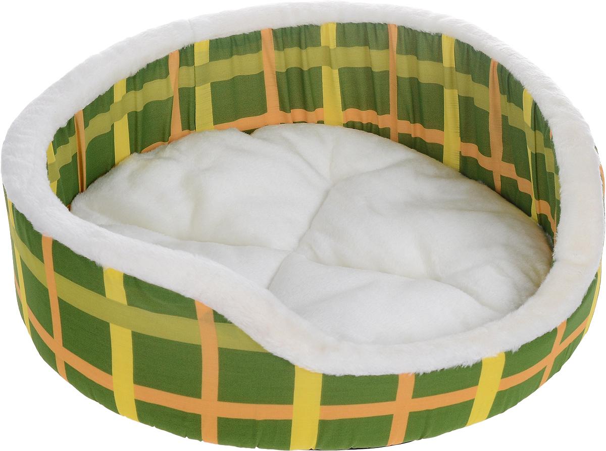 Лежак для животных Каскад Клетка. №3, 55 х 55 х 16 см91003000Мягкий лежак для животных Каскад Клетка. №3 обязательно понравится вашему питомцу. Он выполнен из высококачественных материалов, а наполнитель - из поролона. Такой материал не теряет своей формы долгое время. Борта обеспечат вашему любимцу уют. Лежак оснащен съемной подстилкой. Лежак Каскад Клетка. №3 станет излюбленным местом вашего питомца, подарит ему спокойный и комфортный сон, а также убережет вашу мебель от многочисленной шерсти.