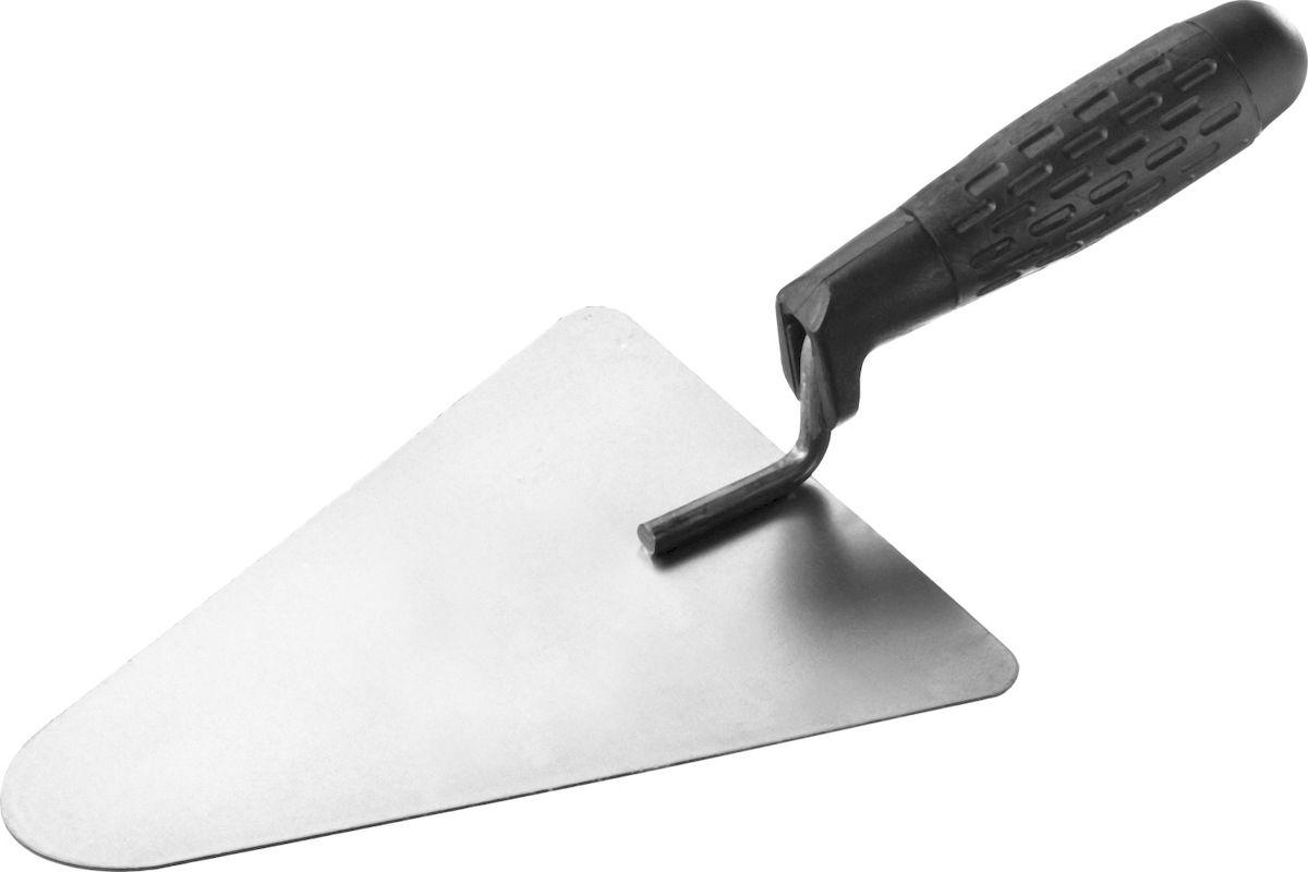 Кельма бетонщика Stayer Standard, с пластмассовой ручкой08250-2Кельма бетонщика STAYER STANDARD с пластмассовой ручкой, КБ
