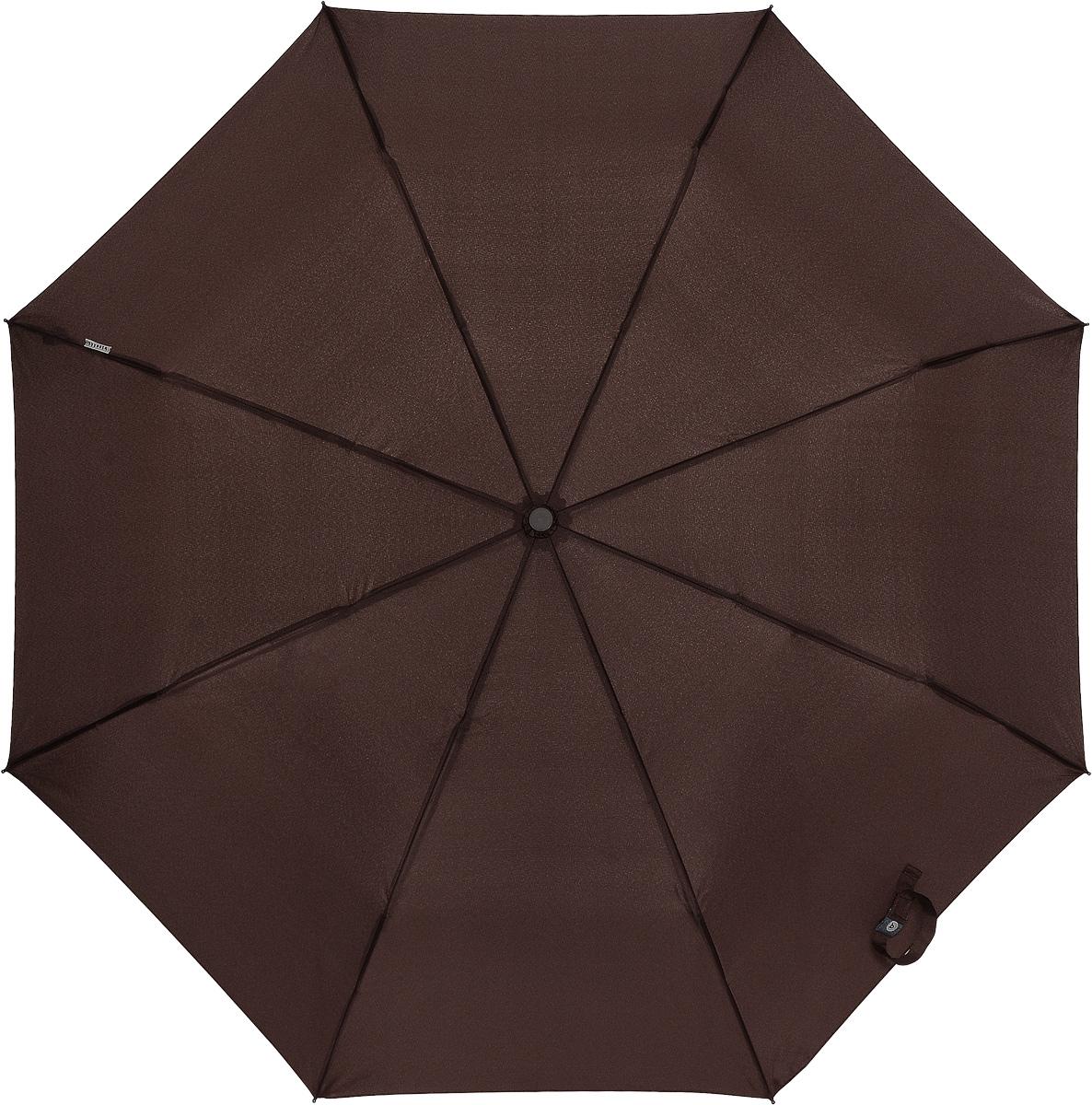 Bisetti 3264-3 Зонт полный автом. 3 сл. муж.3264-3Зонт испанского производителя Clima. В производстве зонтов используются современные материалы, что делает зонты легкими, но в то же время крепкими.Полный автомат, 3 сложения, 8 спиц по 55см, полиэстер.