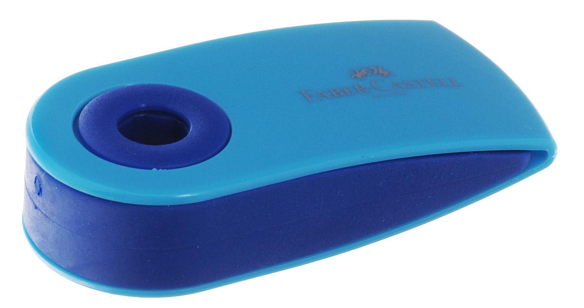 Faber-Castell Ластик флуоресцентный Sleeve цвет голубой