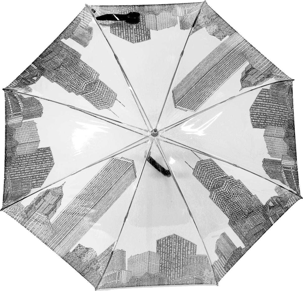 M&P 4799-1 Зонт трость женский4799-1Зонт испанского производителя Clima. В производстве зонтов используются современные материалы, что делает зонты легкими, но в то же время крепкими.Трость автомат, 8 спиц, полиэстер.
