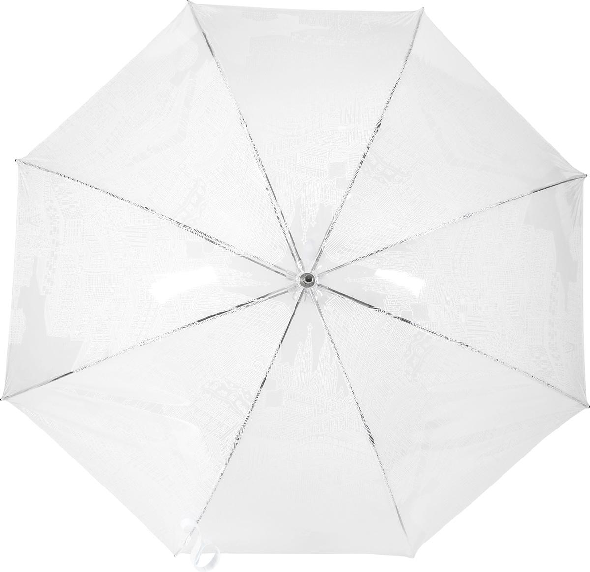 M&P 4799-3 Зонт трость женский4799-3Зонт испанского производителя Clima. В производстве зонтов используются современные материалы, что делает зонты легкими, но в то же время крепкими.Трость автомат, 8 спиц, полиэстер.