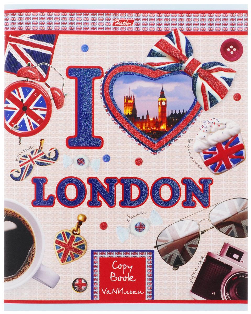 Hatber Тетрадь Я люблю Лондон 48 листов в клетку