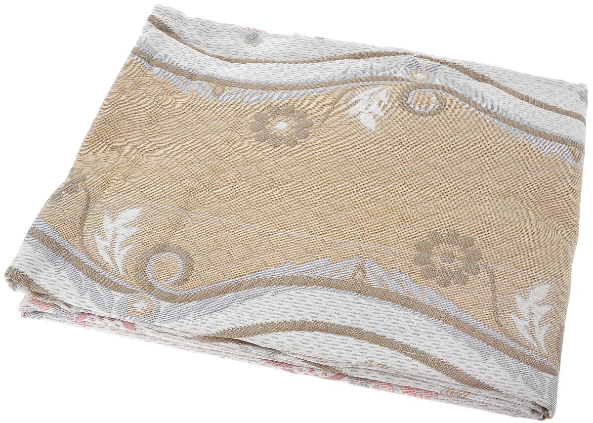 Покрывало Arya Tay-Pen, цвет: молочный, розовый, коричневый, 170 х 240 см. TR1001431TR1001431_молочный-розовый-коричневыйПокрывало Arya Tay-Pen прекрасно оформит интерьер спальни или гостиной. Изделие изготовлено из 100% полиэстера. Жаккардовые покрывала уникальны, так как они практичны и универсальны в использовании. Жаккардовые ткани хорошо сохраняют окраску, слабо подвержены влиянию перепадов температур. Своеобразный рельефный рисунок, который получается в результате сложного переплетения на плотной ткани, напоминает гобелен. Изделие долговечно, надежно и легко стирается. Покрывало Arya Tay-Pen не только подарит тепло, но и гармонично впишется в интерьер вашего дома.