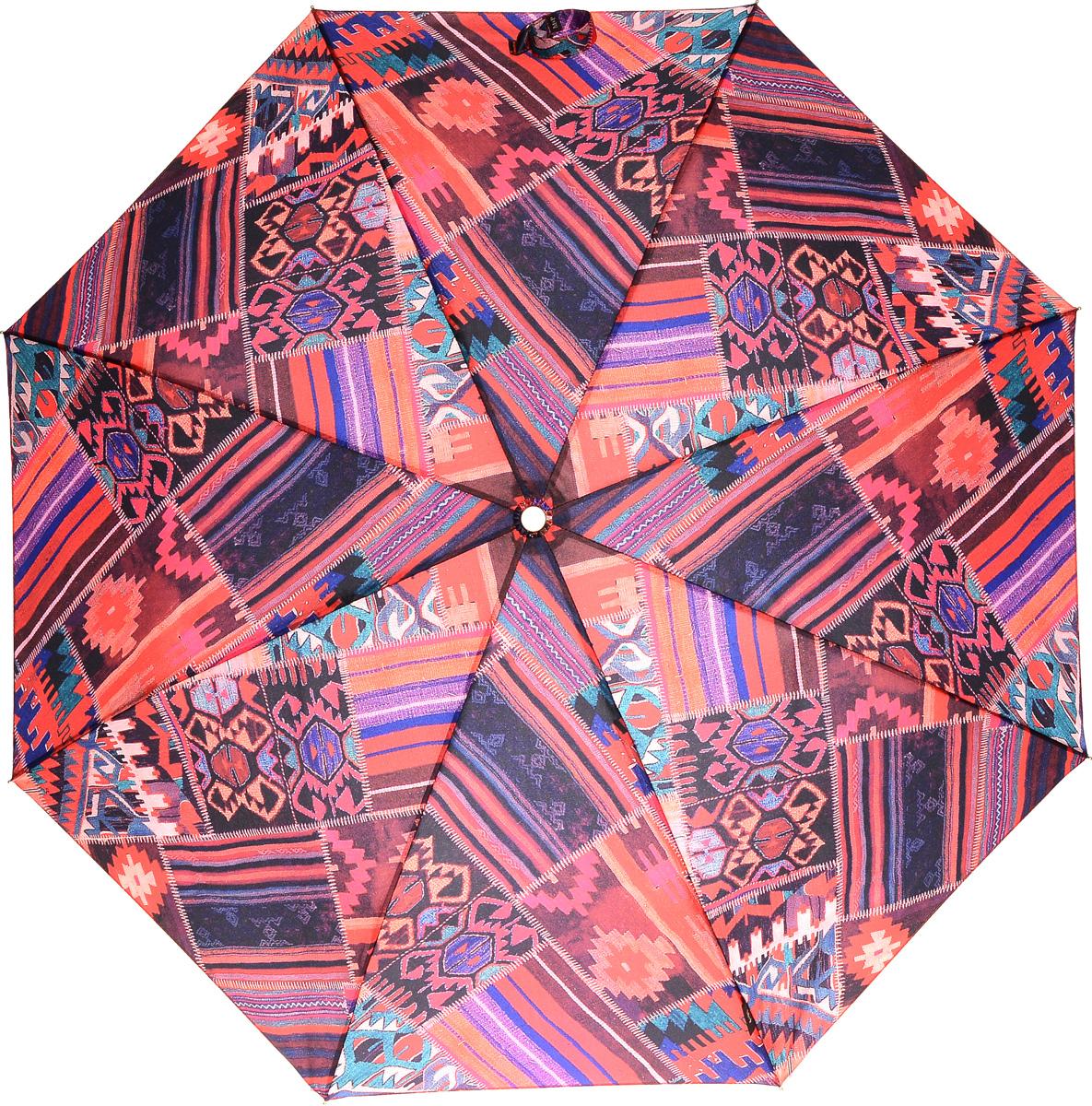 M&P 5867-1 Зонт полный автом. 3 сл. жен.5867-1Зонт испанского производителя Clima. В производстве зонтов используются современные материалы, что делает зонты легкими, но в то же время крепкими. Полный автомат, 3 сложения, 7 спиц, полиэстер.