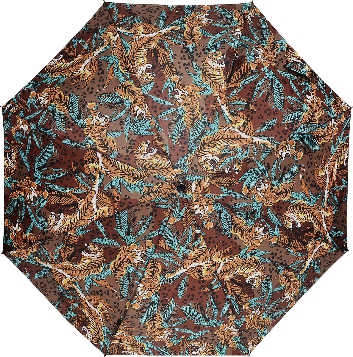 PERTEGAZ 85155-2 Зонт полный автом. 3 сл. жен.85155-2Зонт испанского производителя Clima. В производстве зонтов используются современные материалы, что делает зонты легкими, но в то же время крепкими.Полный автомат, 3 сложения, 8 спиц, полиэстер.