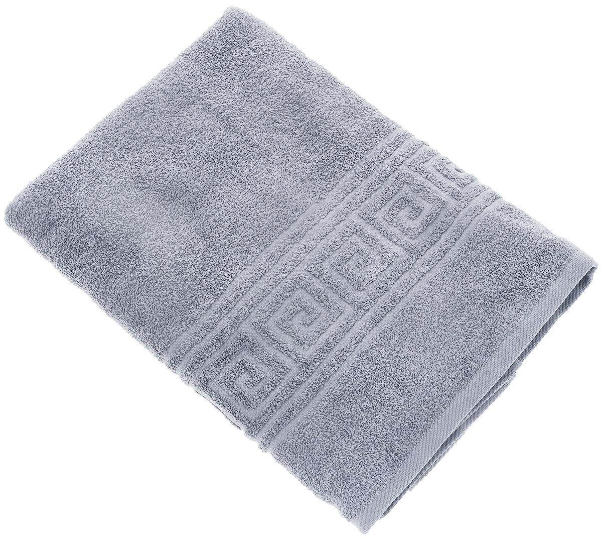 Полотенце Вышневолоцкий текстиль, цвет: серый, 90 х 50 см. 1373613736Махровое полотенце Вышневолоцкий текстиль выполнено из 100% хлопка. Изделие отлично впитывает влагу, быстро сохнет, сохраняет яркость цвета и не теряет форму даже после многократных стирок. Такое полотенце очень практично и неприхотливо в уходе. Оно украсит интерьер в ванной комнате, а также подарит ощущение заботливой нежности и удивительного комфорта. Рекомендуется стирка при температуре 60°C.
