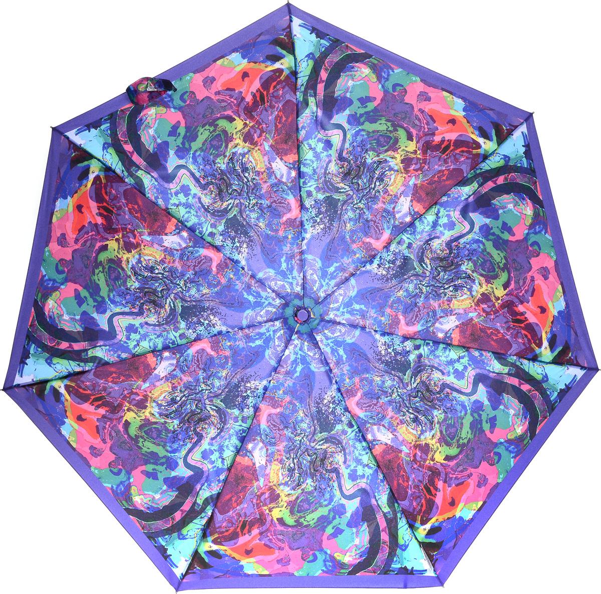 Bisetti 35153-3 Зонт полный автом. 3 сл. жен.35153-3Зонт испанского производителя Clima. В производстве зонтов используются современные материалы, что делает зонты легкими, но в то же время крепкими.Полный автомат, 3 сложения, 8 спиц по 54см, полиэстер.