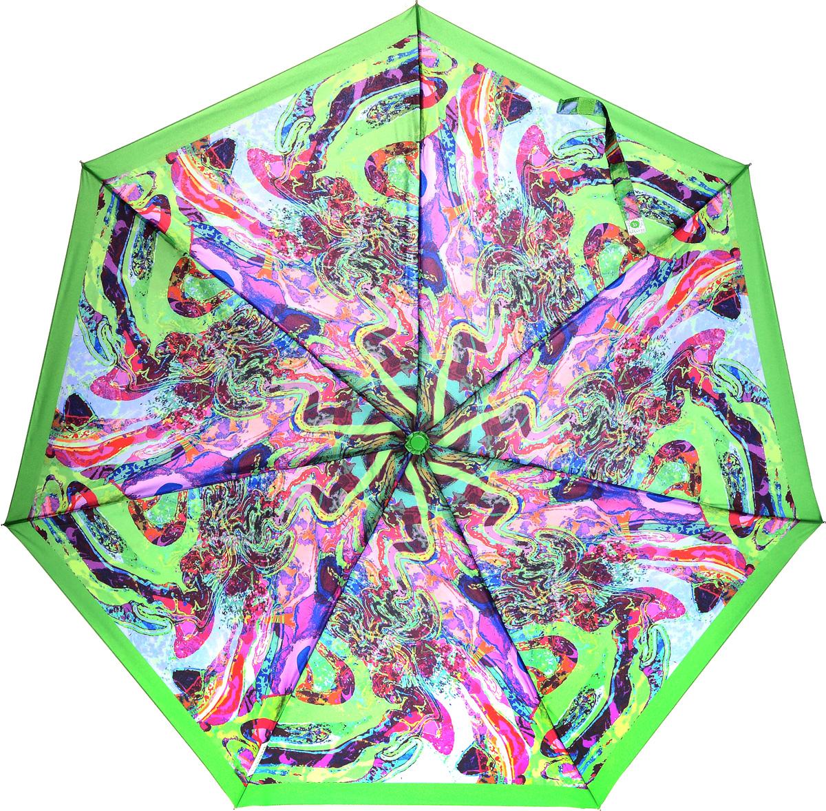 Bisetti 35153-2 Зонт полный автом. 3 сл. жен.35153-2Зонт испанского производителя Clima. В производстве зонтов используются современные материалы, что делает зонты легкими, но в то же время крепкими.Полный автомат, 3 сложения, 8 спиц по 54см, полиэстер.