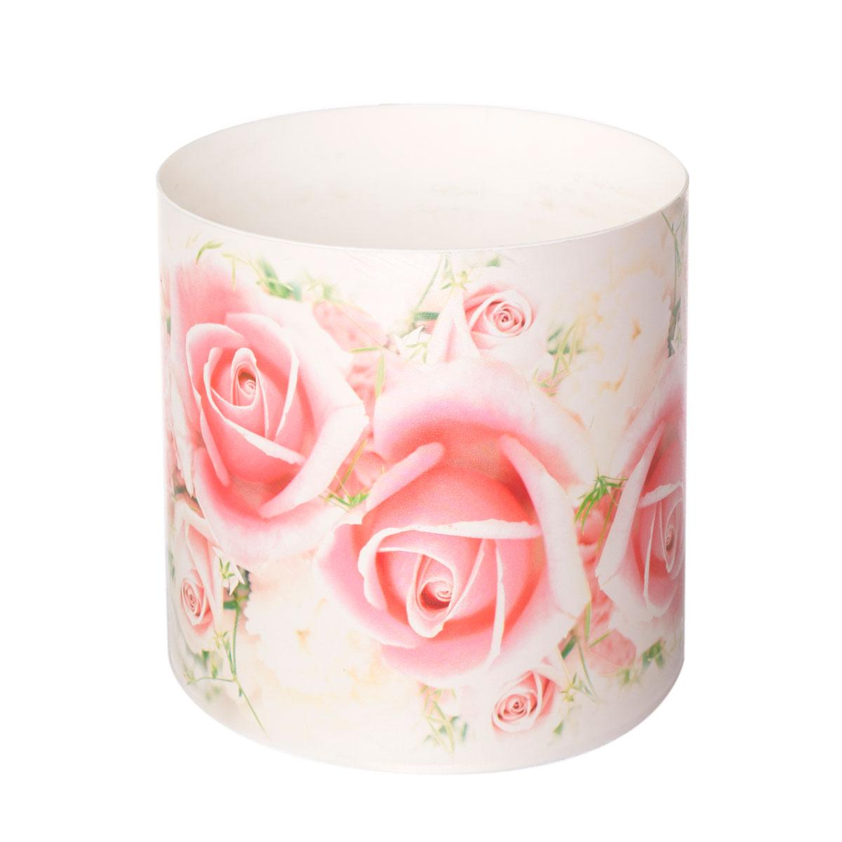 Горшок для цветов Miolla Розы со скрытым поддоном, 2,8лSMG-28Декоративный горшочек Miolla c 3D рисунком. Хорошо будут смотреться как основа для топиариев и флористических композиций. А так же замечательно для комнатных цветов. Со скрытым поддоном.