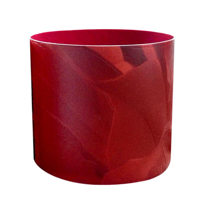 Горшок для цветов Miolla Красная кожа со скрытым поддоном, 1лSMG-67Декоративный горшочек Miolla c 3D рисунком. Хорошо будут смотреться как основа для топиариев и флористических композиций. А так же замечательно для комнатных цветов. Со скрытым поддоном.