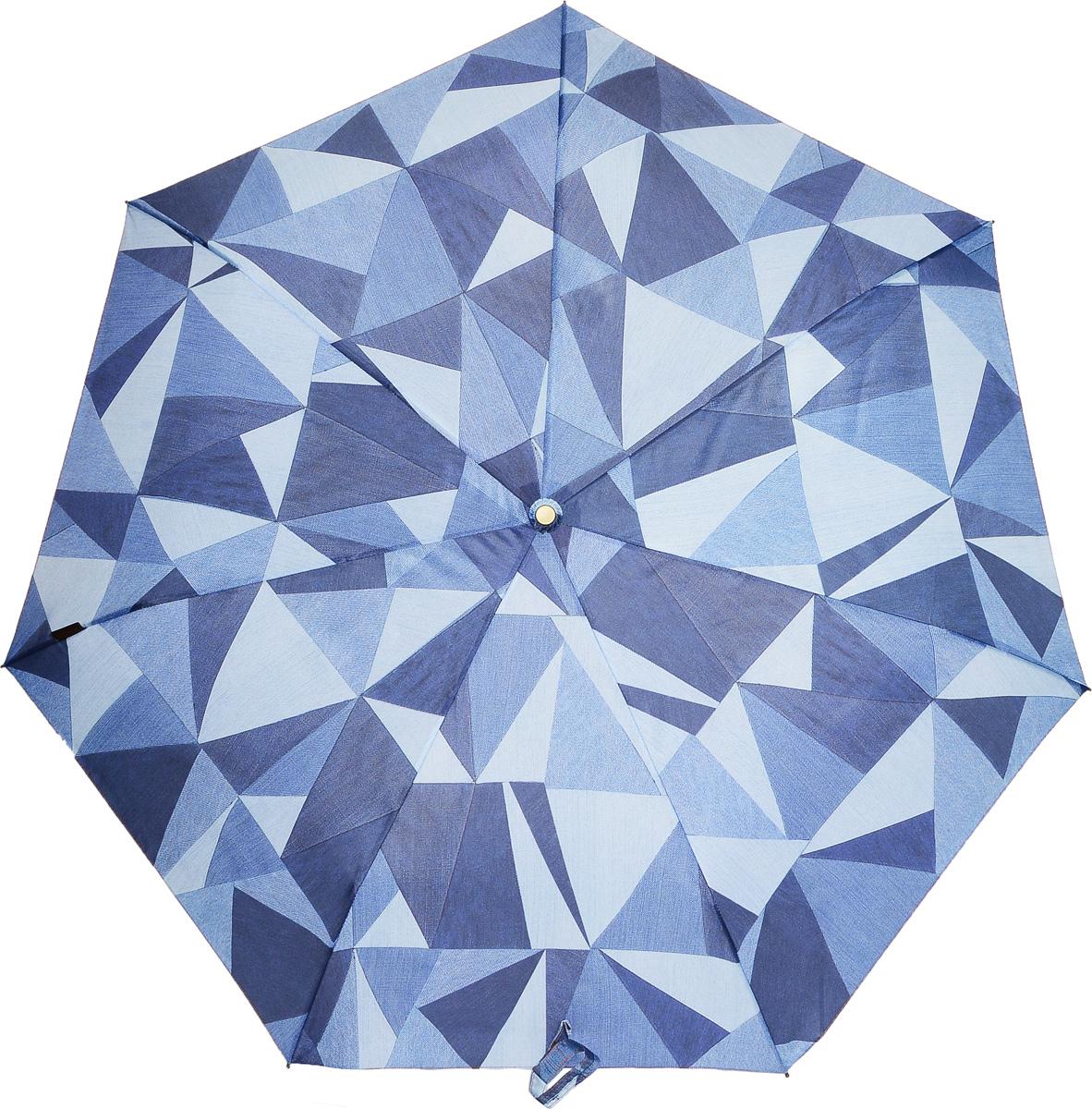 Bisetti 35163-1 Зонт полный автом. 3 сл. жен.35163-1Зонт испанского производителя Clima. В производстве зонтов используются современные материалы, что делает зонты легкими, но в то же время крепкими.Полный автомат, 3 сложения, 8 спиц по 54см, полиэстер.