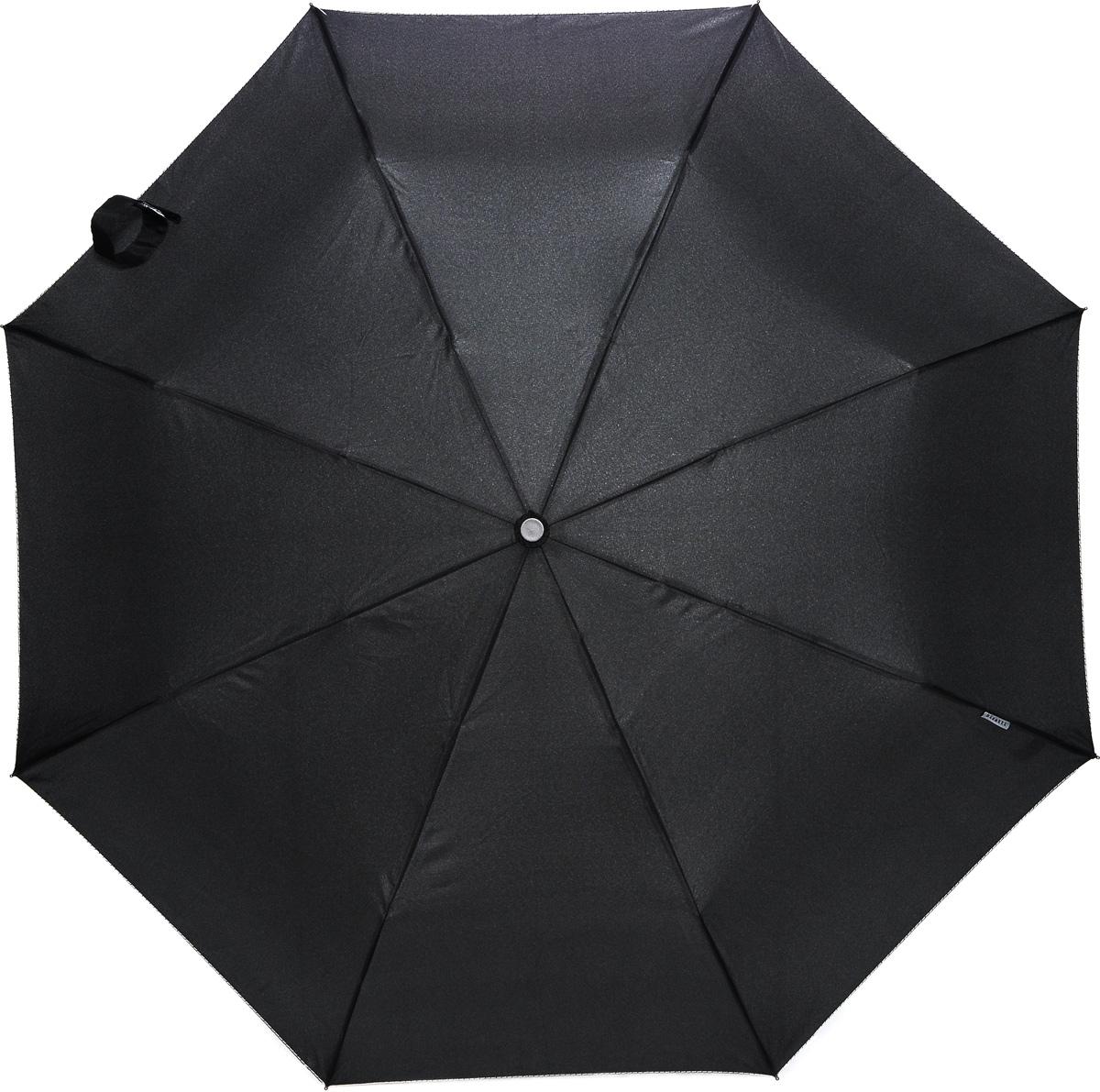 Bisetti 3212-3 Зонт полный автом. 3 сл. муж.3212-3Зонт испанского производителя Clima. В производстве зонтов используются современные материалы, что делает зонты легкими, но в то же время крепкими.Полный автомат, 3 сложения, 8 спиц по 55см, полиэстер.