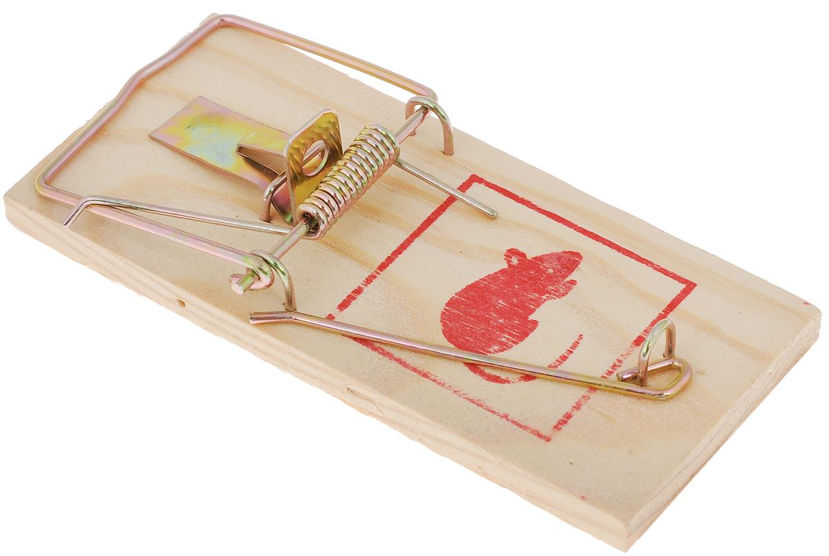 Мышеловка Mr.Mouse, 10 х 4,5 смСЗ.040018Деревянная механическая ловушка Mr.Mouse используется для отлова крыс и мышей в жилых и нежилых помещениях, на прилегающих к ним территориях, в подвалах и погребах. Изделие высокоэффективно, гигиенично, легко приводится в состояние готовности. Способ применения: Положите в ловушку приманку и установите мышеловку на ровной поверхности приманкой к стене. Павшего грызуна легко удалить из ловушки: не прикасаясь к крысе, ослабьте двумя пальцами зажим. После удаления погибшего грызуна промойте ловушку под струей воды и просушите. Вложите в крысоловку свежую приманку, и ловушка вновь готова к применению. Рекомендуемые приманки: сыр, хлеб, шоколад, изюм. Меняйте расположение расставленных ловушек, так как крысы и мыши запоминают место опасности.