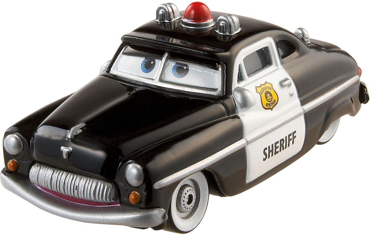Cars Машинка ШерифW1938_DLY64Машинка Cars Шериф привлечет внимание вашего малыша и не позволит ему скучать, ведь так интересно и захватывающе покатать машинку или устроить гонку с другом. Машинка выполнена из прочного материала в виде персонажа мультфильма Тачки. Шериф - полицейский городка Радиатор-Спрингс. Во второй части мультфильма он появляется лишь несколько раз. Когда Молния предлагает ему поехать с ним, Шериф отказывается. В целом в Радиатор-Спрингс все идет спокойно и он редко выезжает на работу, однако в первой части мультфильма его очень часто беспокоили Поршняк и его банда. Однако Шериф их поймал и приговорил к исправительным работам в Радиатор-Спрингс. Колеса машинки имеют свободный ход. Благодаря небольшому размеру ребенок сможет взять машинку с собой на прогулку, в поездку или в гости. Порадуйте своего малыша таким замечательным подарком!