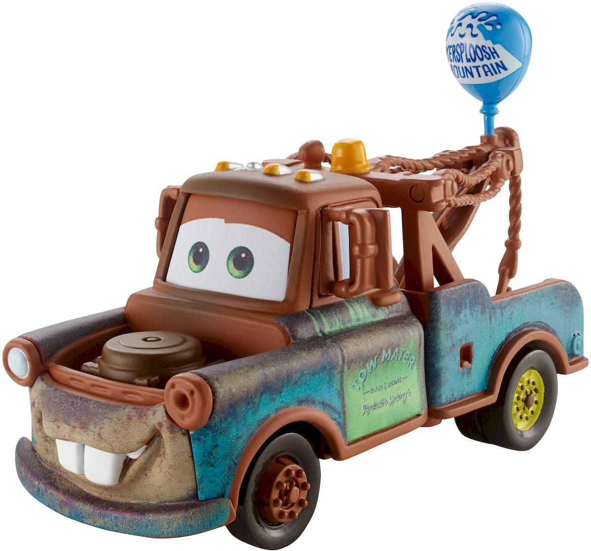 Cars Машинка Мэтр с воздушным шаромW1938_DLY86Машинка Cars Мэтр привлечет внимание вашего малыша и не позволит ему скучать, ведь так интересно и захватывающе покатать машинку или устроить гонку с другом. Машинка выполнена из прочного материала в виде персонажа мультфильма Тачки. Мэтр - коренной житель Радиатор-Спрингса и местная знаменитость. Еще бы, ведь он лучший в мире ездок задком! Мэтр очень любит свою работу - он тягач и может вытянуть любую машину из любой самой глубокой канавы или из колючих кактусов. Что может быть прекрасней, чем тягать машины! Мэтр всегда найдет, чем заняться - например, ночью он отправляется пугать тракторов, то есть опрокидывать сонные тракторы под носом у гигантского комбайна Фрэнка. А по выходным Мэтр вместе со всей своей многочисленной родней участвует в гонках на выживание, где цель - доехать по ухабам и рытвинам до финиша, а как следует стукнуть товарища по бамперу - знак дружбы и уважения. Колеса машинки имеют свободный ход. Благодаря небольшому размеру ребенок сможет взять...