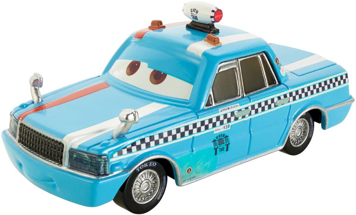 Cars Машинка Боб ПуляW1938_DLY93Машинка Cars Боб Пуля привлечет внимание вашего малыша и не позволит ему скучать, ведь так интересно и захватывающе покатать машинку или устроить гонку с другом. Машинка выполнена в светло-голубом цвете, украшена полосами, мигалками и полностью повторяет одного из героев мультфильма Тачки 2 - таксиста Боба Пулю. Колеса машинки имеют свободный ход. Благодаря небольшому размеру ребенок сможет взять машинку с собой на прогулку, в поездку или в гости. Порадуйте своего малыша таким замечательным подарком!
