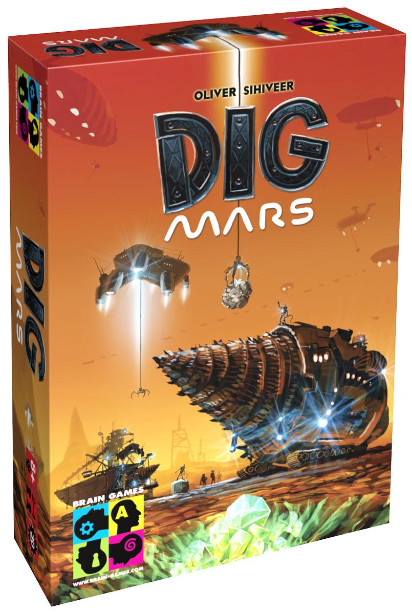 Brain Games Настольная игра Освоение Марса4751010195106Человечество находится на пороге величайших открытий. Зонд, который был отправлен на исследование одного из каньонов Марса, обнаружил многочисленные следы объектов неизвестного происхождения. Тем временем, несколько богатейших корпораций решили направить свои средства на обнаружение и доставку этих объектов на Землю. Игроки являются руководителями корпораций, которым нужно успешно завершить миссию на Марсе и сделать это быстрее своих конкурентов. В настольной игре Brain Games Освоение Марса вы будете исследовать каньон, бурить его поверхность и транспортировать различные находки, за которые вам будут присуждаться очки успеха. Используя полученные очки, вы сможете модернизировать свое оборудование, что даст вам возможность исследовать и бурить более сложные участки каньона, транспортировать более ценные находки, а также увеличивать количество передвижных станций. Ваша цель - быстрее других набрать определенное количество очков успеха. Время игры: 30 минут. Состав игры: 60...