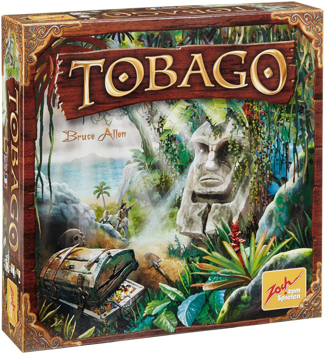 Zoch Настольная игра Тобаго4015682284002Тобаго - остров в Карибском бассейне неподалеку от берегов Венесуэлы. А где Карибы, там и пираты, ну а где пираты там их бесчисленные сундуки с награбленным добром. Присоединяйтесь к бесстрашным кладоискателям, отважившимся бросить вызов целому острову полному несметных сокровищ. Цель настольной игры Zoch Тобаго - стать самым успешным кладоискателем, накопив к концу игры больше всех золотых монет. Только хороший расчет, правильные подсказки, ну и конечно, немного удачи, принесут вам победу в этой полной приключений игре. Безусловно, одной из главных изюминок игры является механика поиска клада. Дело в том, что точного места, где спрятан клад, нет, и вам самим, из кусочков старых карт сокровищ предстоит установить его местонахождение. Клад может оказаться где угодно: на берегу океана, под одинокой пальмой в горах, в деревне аборигенов или даже на дне самого глубокого озера! Каждый игрок может добавить свою улику к одному из рядов подсказок. Главное, чтобы она сужала область...