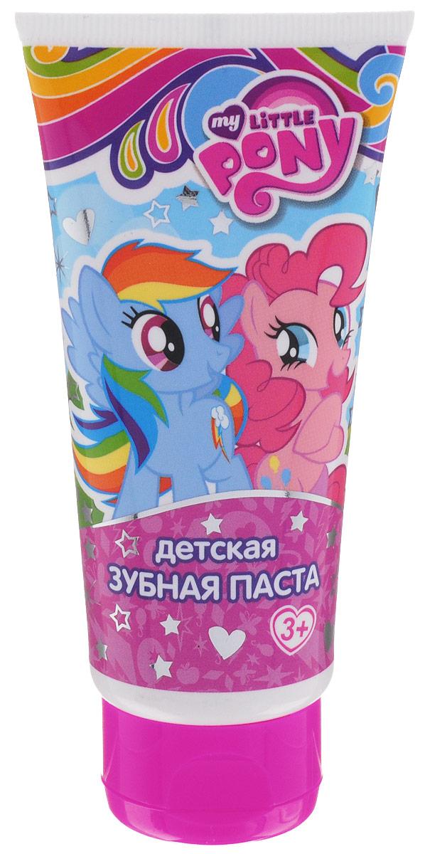 My Little Pony Зубная паста детская 65 мл31589Новый сюрприз от маленьких пони! Специально разработанная рецептура для детей от 3 лет и старше. Мягко очищает и освежает полость рта, эффективно защищает от кариеса, как молочные, так и постоянные зубы. Использовать под присмотром взрослых! Товар сертифицирован.
