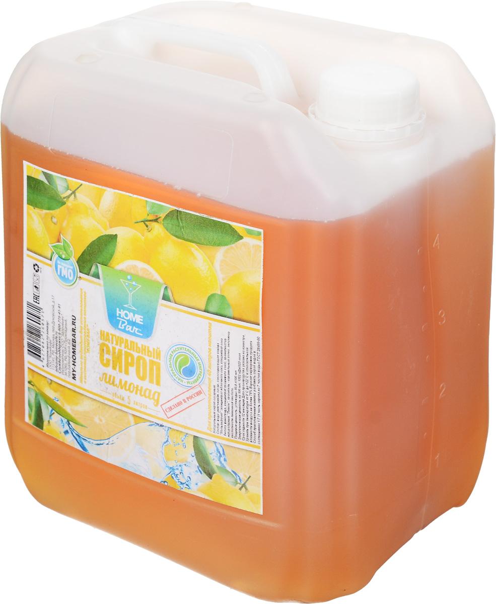 Home Bar Лимонад натуральный сироп, 5 л