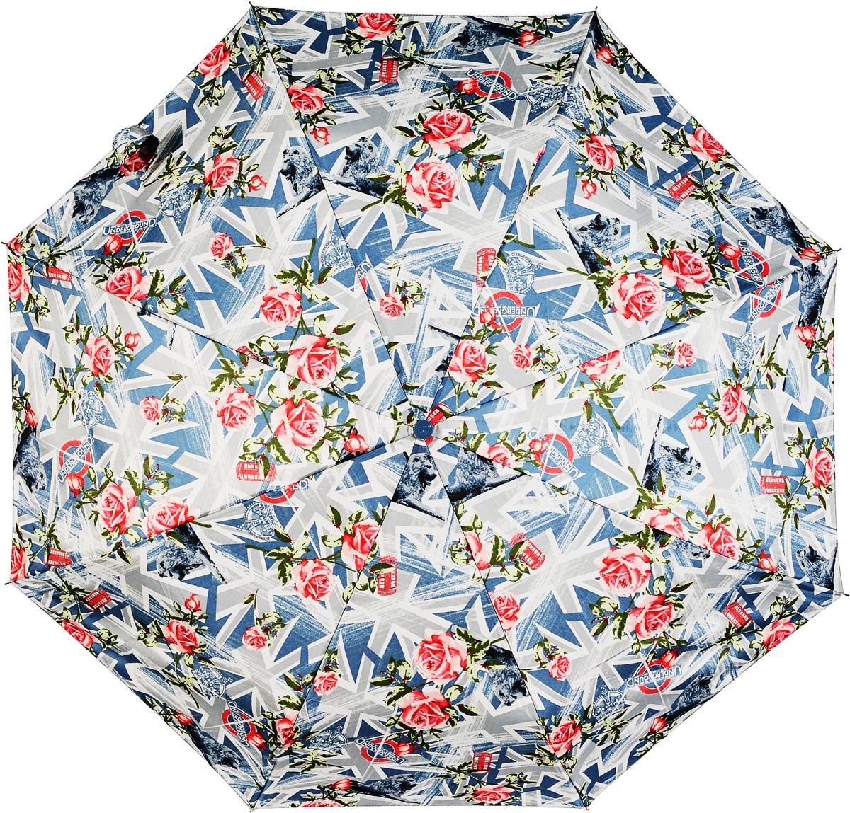 Зонт женский механика Fulton, расцветка: флаг. L450-2432 IconFlagPrintL450-2432 IconFlagPrintНадежный механический зонт. Ветроустойчивая конструкция. Большой купол. З сложения, 8 спиц Длина в сложенном виде 24 см, диаметр купола 98 см
