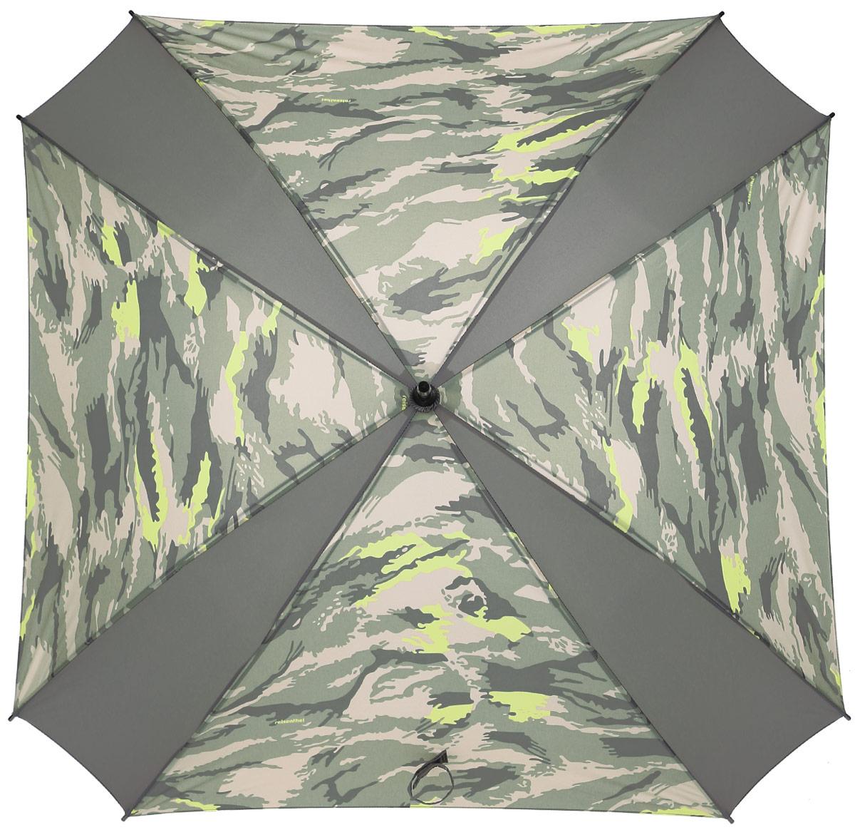 Зонт-трость Reisenthel, цвет: бежевый, светло-зеленый. YM5034YM5034Ни снег, ни проливной дождь не страшны, когда с вами ваш надежный друг - красивый зонт-трость. А надежен он благодаря своей инновационной форме в виде октагона - фигуры с 8 углами. У зонта гибкие спицы со специальными пружинами, которые не сломаются. При сильном ветре зонт просто вывернется наизнанку. А вот острый наконечник и ручка, которая позволяет повесить зонт - самые что ни на есть классические, удобные и красивые. Чтобы просушить его, просто оставьте открытым (пожалуйста, не сворачивайте зонт, пока он мокрый).