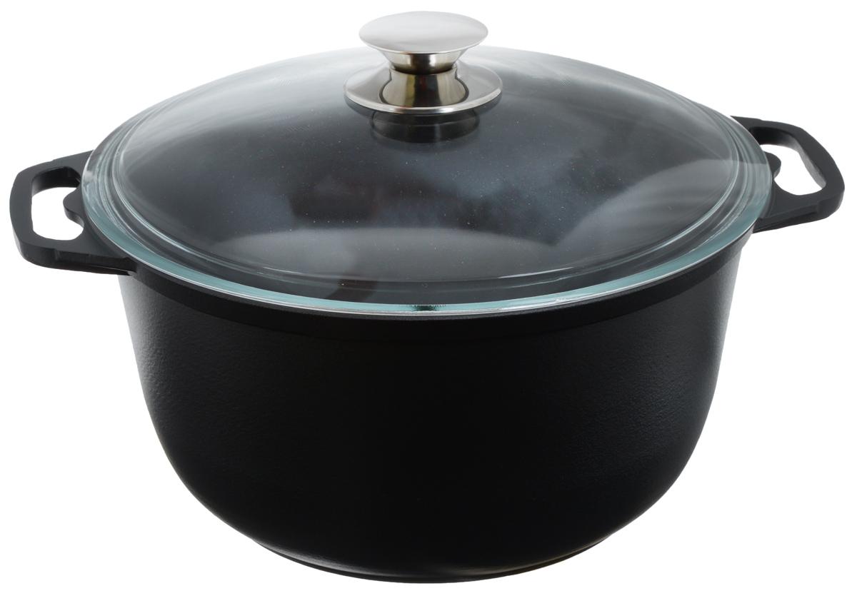 Кастрюля Катюша с крышкой, с антипригарным покрытием, 6 лк60с/аКастрюля Катюша, выполненная из литого алюминия с антипригарным покрытием Skandia, позволит вам приготовить вкуснейшие блюда. Благодаря хорошей теплопроводности алюминия, молоко или вода закипают в ней быстрее, чем в эмалированных кастрюлях. Кастрюля оснащена стеклянной крышкой, которая позволяет вам наблюдать за процессом готовки без потери тепла. Данная кастрюля отличается долговечностью и прочностью. Подходит для всех типов плит, кроме индукционных. Можно мыть в посудомоечной машине. Высота стенки: 14,5 см. Ширина кастрюли (с учетом ручек): 35,5 см.