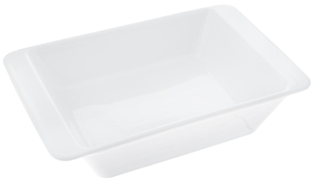 Форма для запекания Tescoma Gusto, прямоугольная, 25 х 16 см622014Прямоугольная форма Tescoma Gusto, выполненная из высококачественной керамики, отлично подходит для выпечки, запекания, сервировки и хранения блюд. Пригодна для всех типов духовок, холодильников и морозильников. Можно мыть в посудомоечной машине. Выдерживает температуру от -18°С до +240°С. Внутренний размер формы: 20 х 15 см. Внешний размер формы: 25 х 16 см. Высота стенки: 5,5 см.