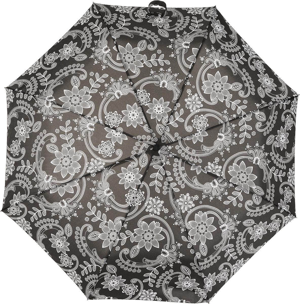 Зонт женский автомат Fulton, расцветка: кружево. J346-3048 SoftLaceJ346-3048 SoftLaceПолный автомат каркас в 3 сложения 8 алюминиевых спиц с элементами из фибергласса длина спиц - 53 см материал купола - полиэстер длина сложенного зонта - 27 см размер 99 см