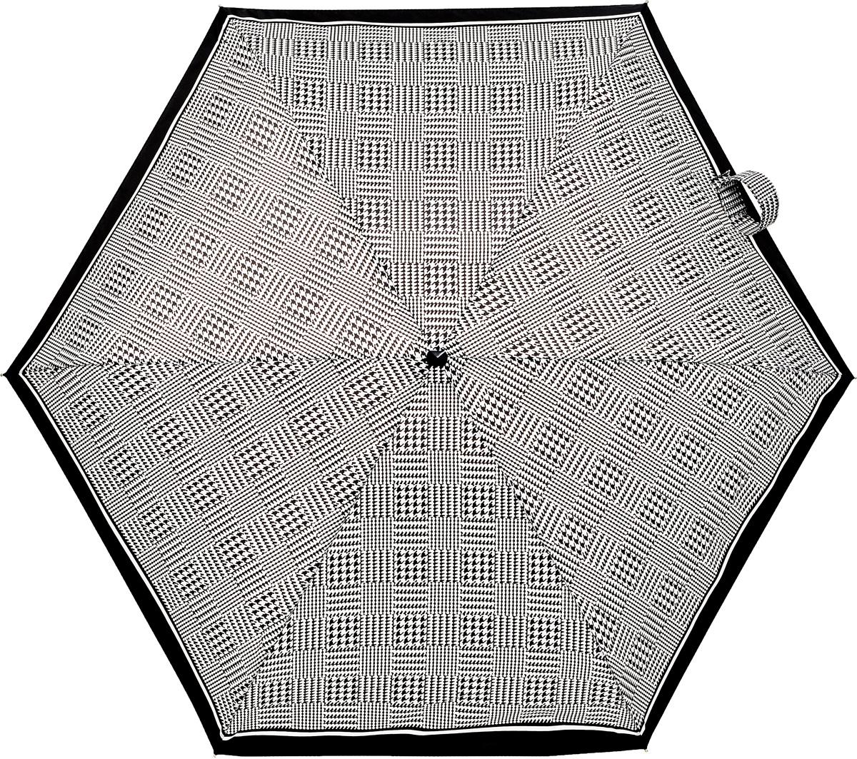 Зонт женский механика Fulton, расцветка: гусиная лапка. L501-2248 ClassicPuppytoothL501-2248 ClassicPuppytoothПрочный, необыкновенно компактный зонт, который с легкостью поместится в маленькую сумочку. Удобный плоский чехол. Облегченный алюминиевый каркас с элементами из фибергласса. Ветроустойчивая конструкция. Размеры зонта в сложенном виде 15смх6смх3см, диаметр купола 87 см.